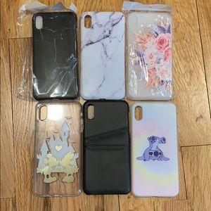 iPhone XS Max case bundle